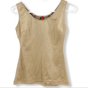 Spanx Womens Control Tank Top Nude Tan Shapewear